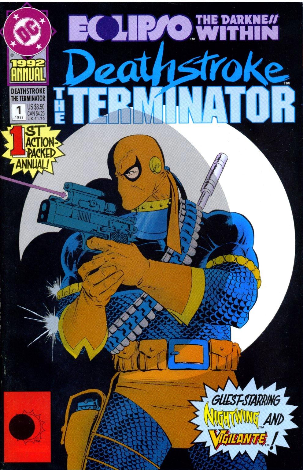 Deathstroke (1991) Annual 1 #1 - English 1
