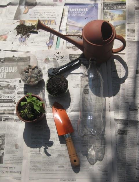 Revista energ a jardines c mo hacer un huerto vertical - Material para jardin ...