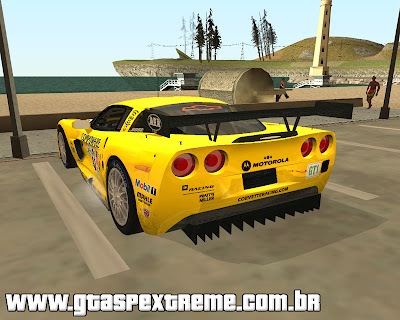 Chevrolet Corvette C6-R para grand theft auto