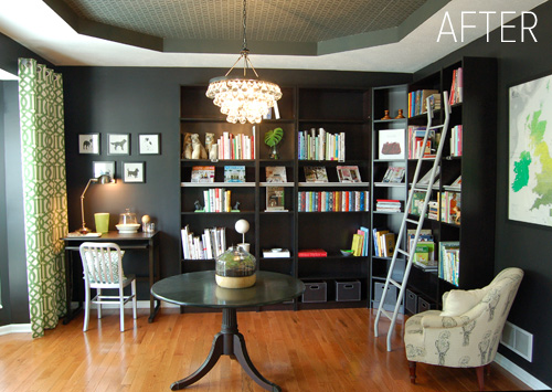 Giveaway monday for Dining room library