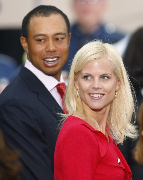 new sports stars  tiger wood wife elin nordegren 2012