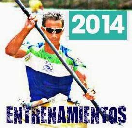 ENTRENAMIENTOS TEMPORADA 2014
