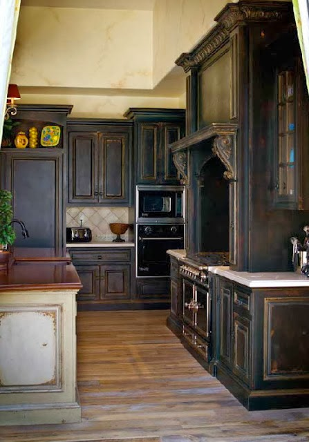 Another Good Kitchen. The Diamond Motif Ceiling Has A Medieval Quality That  Makes It Perfect For The Gothic Home.