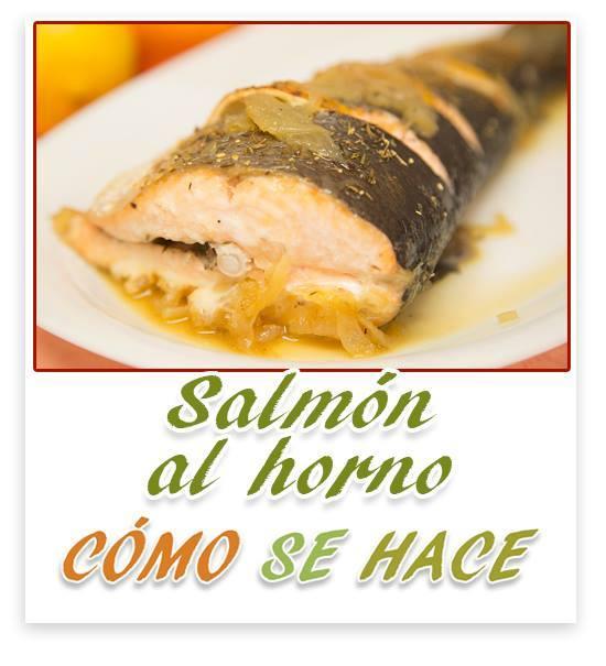 Salm n al horno con tomillo y lim n for Como se cocina el salmon