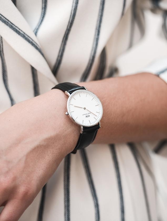 daniel wellington, classic sheffield lady, dw promo code, discound code, blogger, watch, minimalistic watch