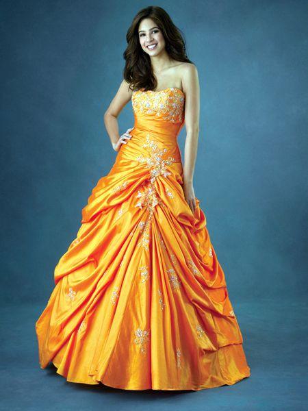 Bridal Dresses Orange Prom Dresses 2011