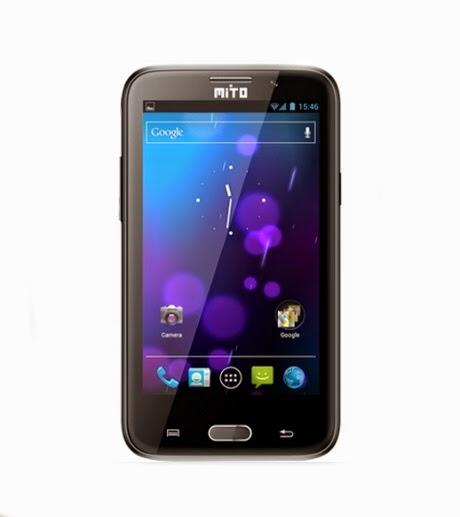 Harga Dan Spesifikasi Mito T510, Android 5 inci Dual SIM