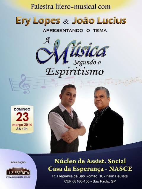 A música segundo o Espiritismo