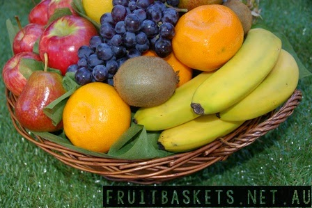 get well gifts - fruit baskets