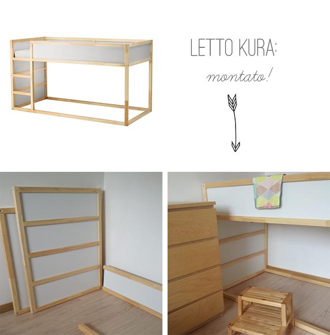 La nuova cameretta la palette e le idee d 39 arredo home for Letto rialzato ikea