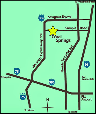 Convenient Freeways Coral Springs