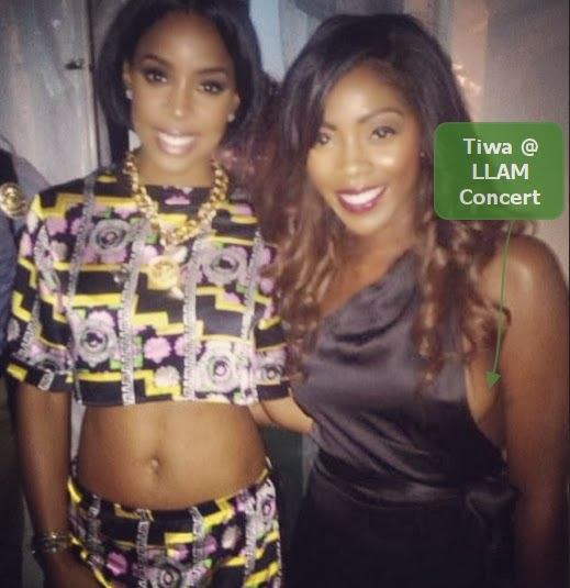 tiwa savage exposes boobs