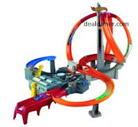 Hot Wheel Spin Storm Track Set , Multi Color