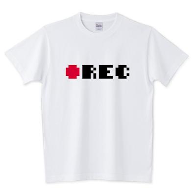 「REC録画中」Tシャツ