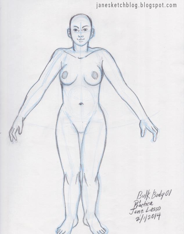 Dibujo de cuerpo macizo