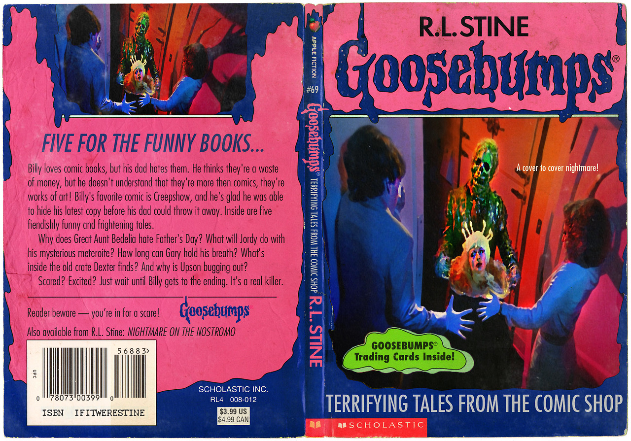 Goosebumps Book Cover Art : The horrors of halloween goosebumps horror book