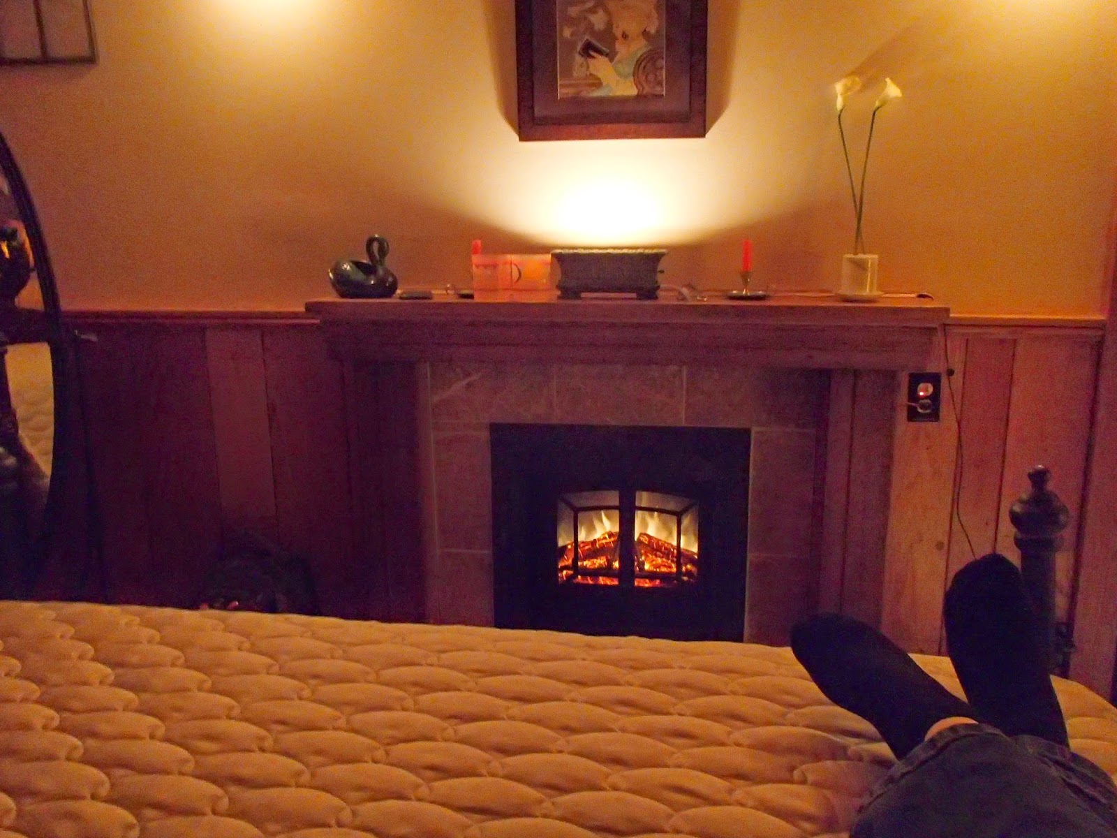 Cozy Fireside Feet | Navigating Hectivity by Micki Bare