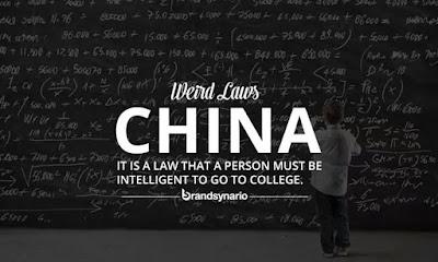Undang-Undang Pelik Dunia