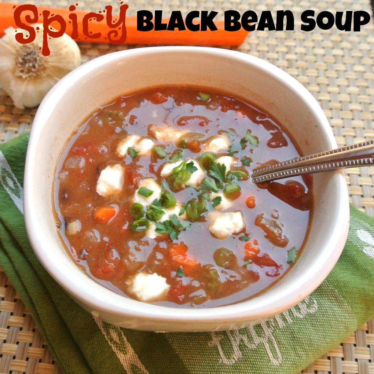 Mom, What's For Dinner?: Easy Spicy Black Bean Soup