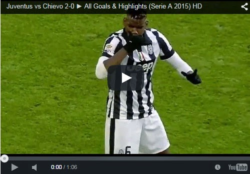 Highlights Liga Italia : Juventus 2-0 Chievo
