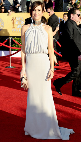 Balengiaga +Kristin+Wiig+at+the+SAG+awards