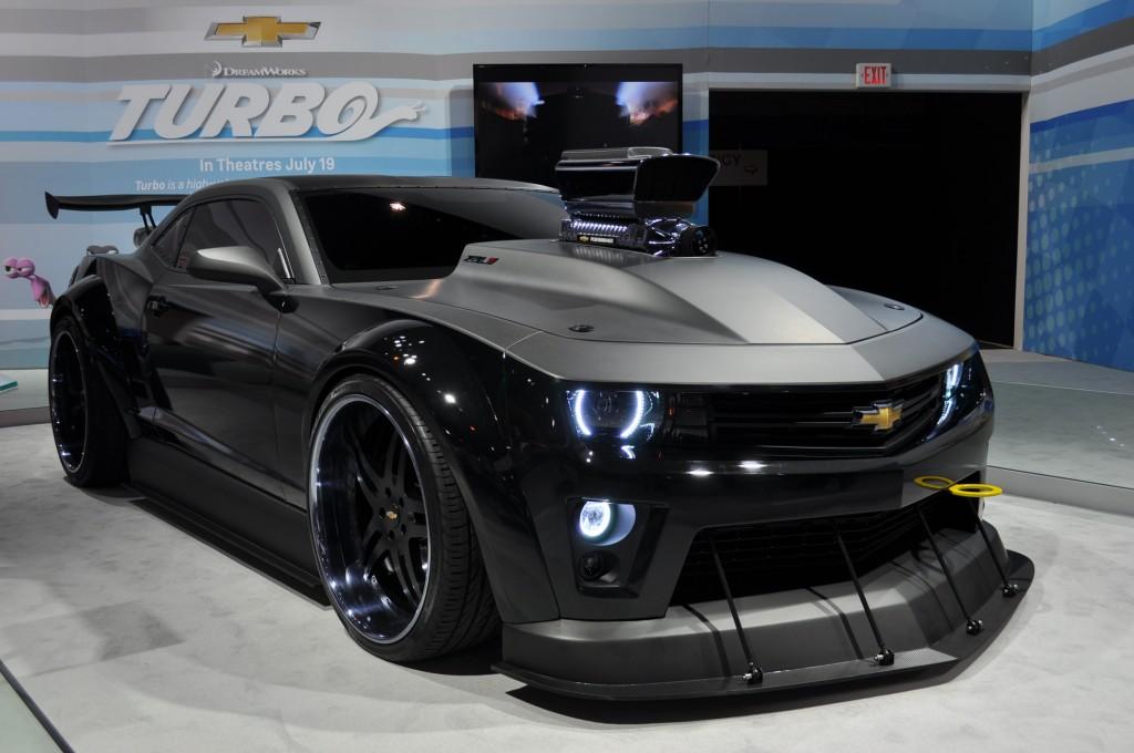 Custom Chevrolet Camaro Featured In DreamWorks Animationu0027s U0027Turbou0027