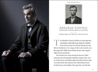 Production of Lincoln movie
