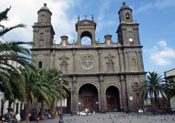 La Catedral de Santa Ana en Las Palmas de Gran Canaria