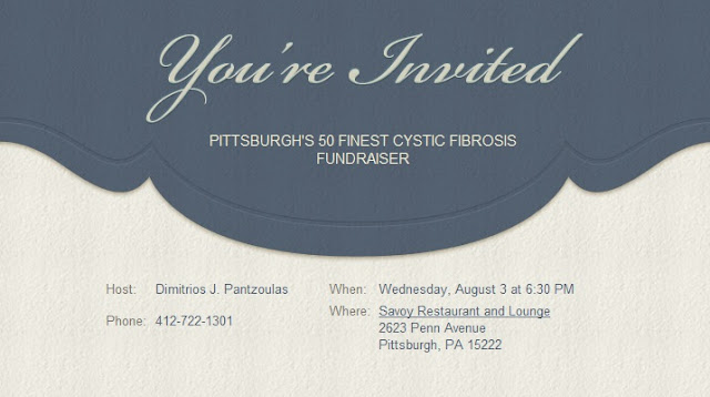 Pittsburgh's 50 Finest, Cystic Fibrosis Foundation, Pittsburgh