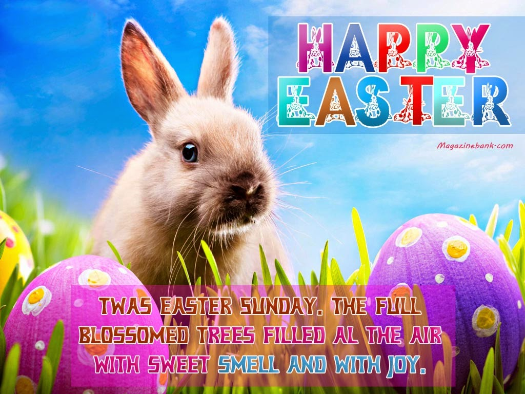 Happy Easter Card Sayings Quotes
