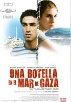 Cartel de la película 'Una botella en el Mar de Gaza´