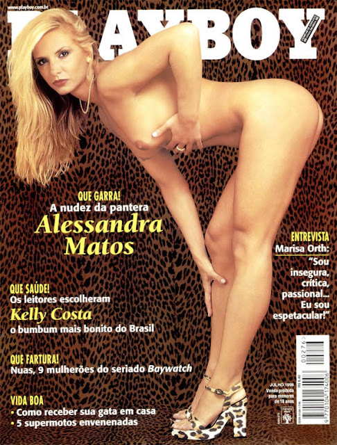 Alessandra Matos - Playboy 1998