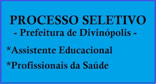 imagem  Processo seletivo Divinópolis