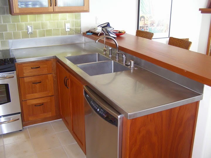 Stainless steel blog for Stainless steel bathroom countertops