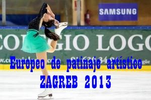 PATINAJE ARTÍSTICO-Europeo Zagreb 2013