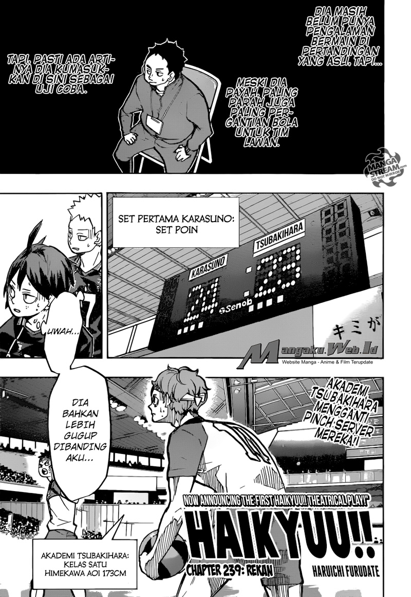 Haikyuu!! Chapter 239-0