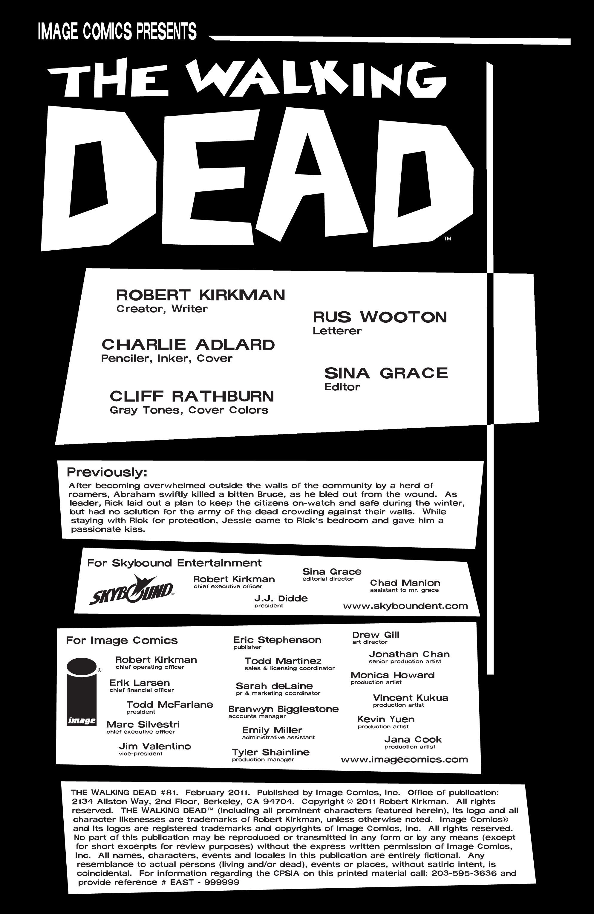 The Walking Dead 81 Page 2