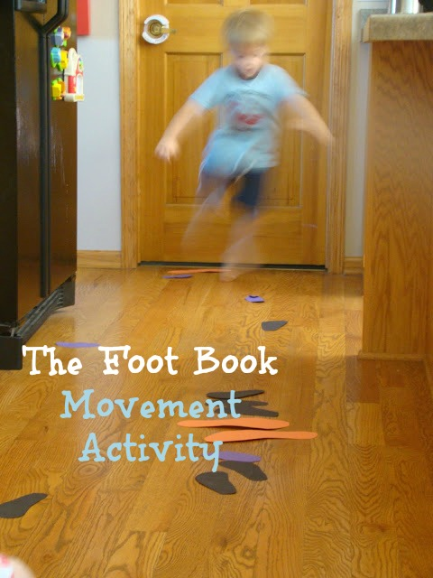Movement Activity for The Foot Book by Dr. Suess