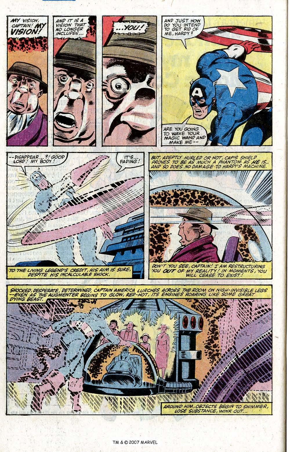 Captain America (1968) Issue #264 #179 - English 30