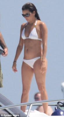 Bikini-clad