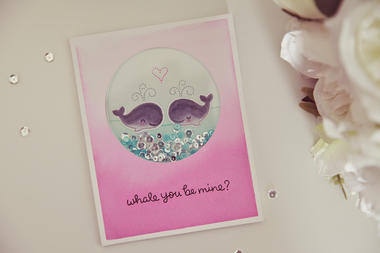 Whale You Be Mine? A fun card--With Video