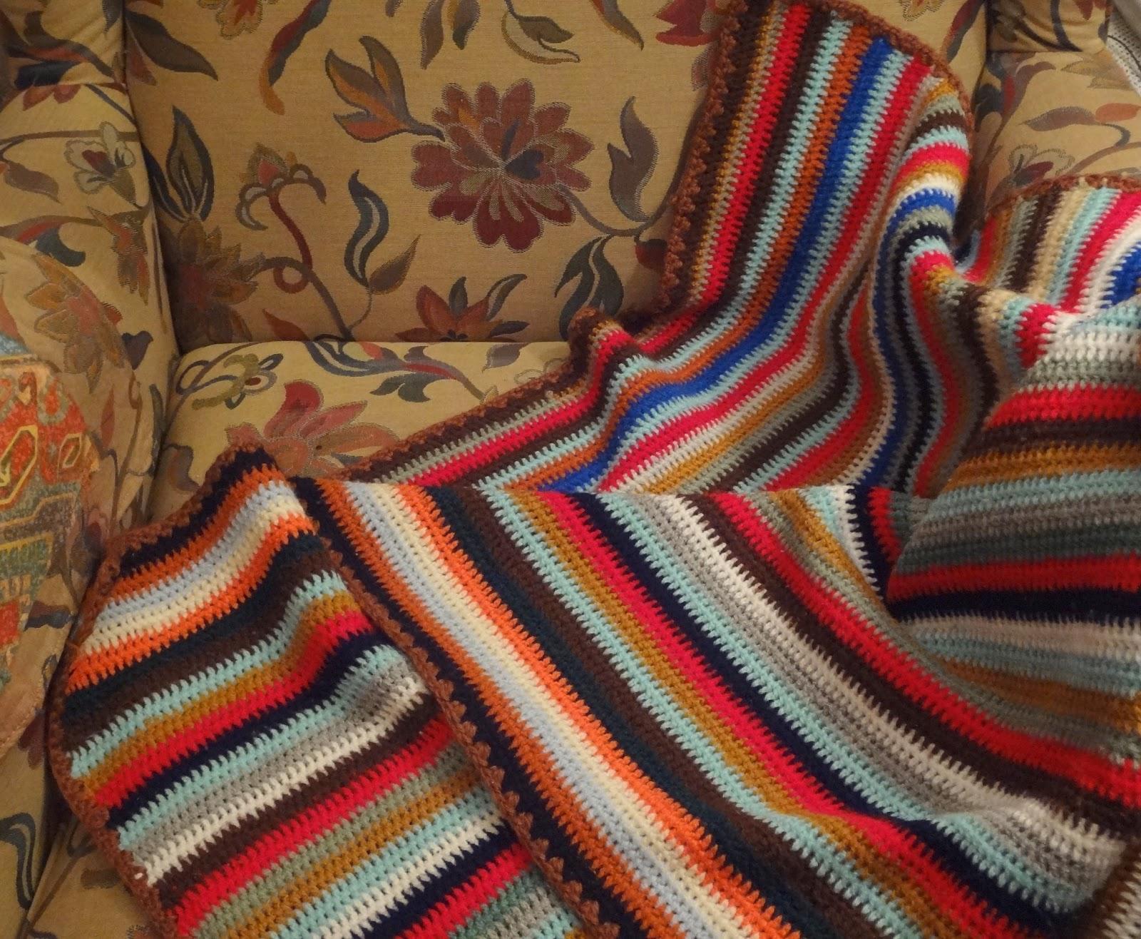 bordados ganchillo y punto mantas de lana