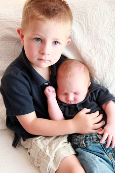 My 2 sweet grandsons!