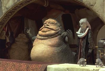 Neko Random: My Top Ten Worst Star Wars Characters #4 ... Jabba The Hutt Choked