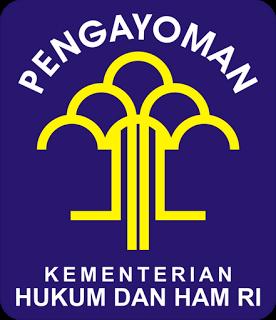 Logo Kementerian Hukum dan Hak Asasi Manusia[Kemenkumham]
