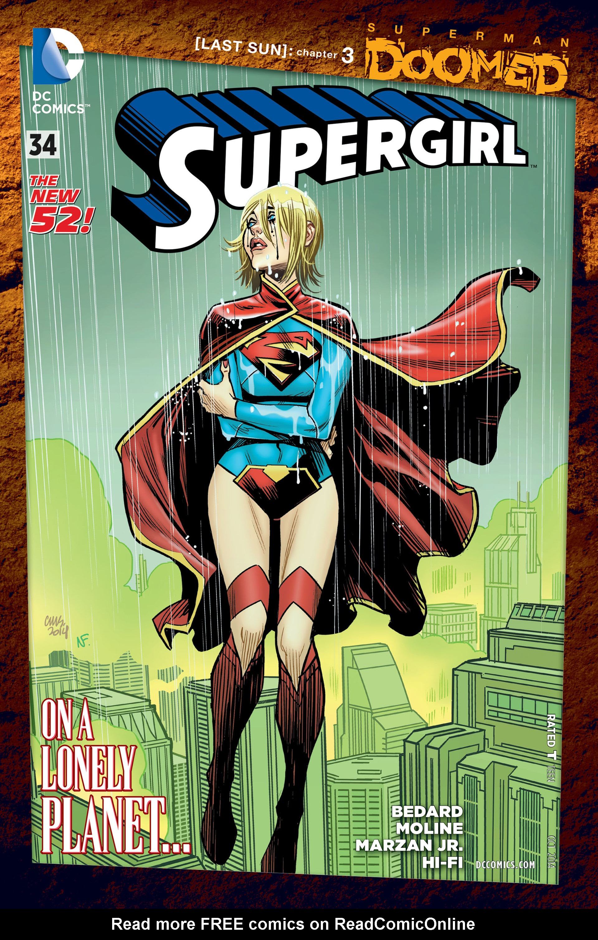 Supergirl (2011) Issue #34 #36 - English 1