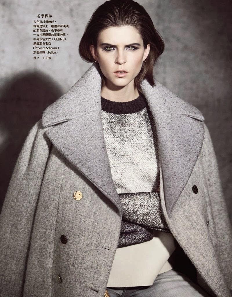 Magazine Photoshoot : Kel Markey Photoshoot For Yossi Michaeli Vogue Magazine Taiwan 2014 Issue