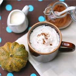 Pumpkin Pie Spiced Latte autumn drink dessert recipe