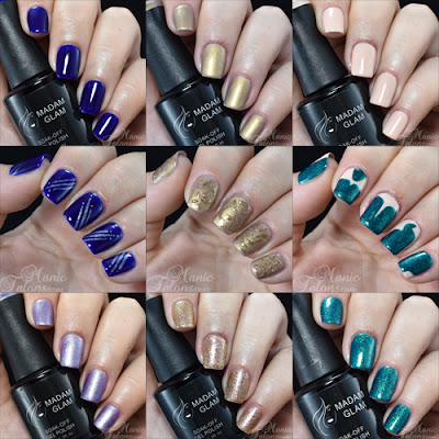 New Gel Polish Shades from Madam Glam