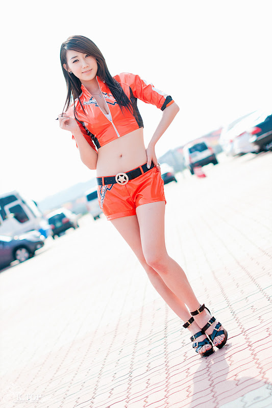 Race Queen Lee Sung Hwa